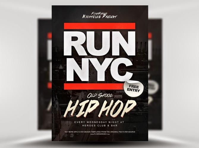 Flyer Hip Hop Template