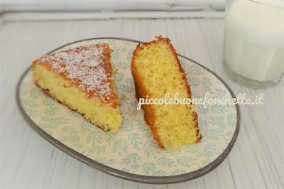 foto Ricetta torta al cocco per bambini