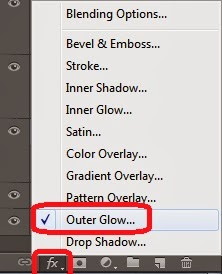 outer glow photoshop