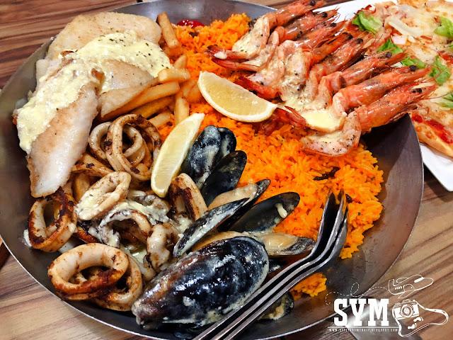 PILIHAN MENU SEAFOOD SEDAP FISH & CO IOI CITY MALL