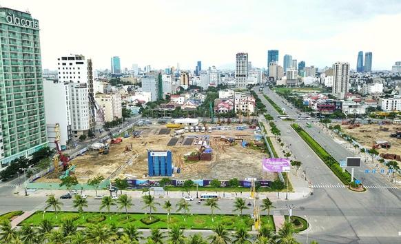 Lô đất rộng hơn 2,1ha đối diện quảng trường Biển Đông đang thu hút được sự chú ý đặc biệt từ thị trường.