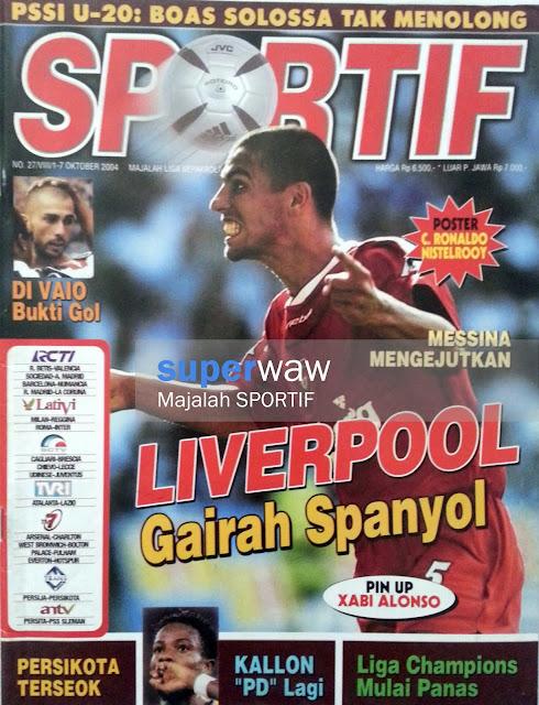 Majalah SPORTIF: LIVERPOOL Gairah Spanyol