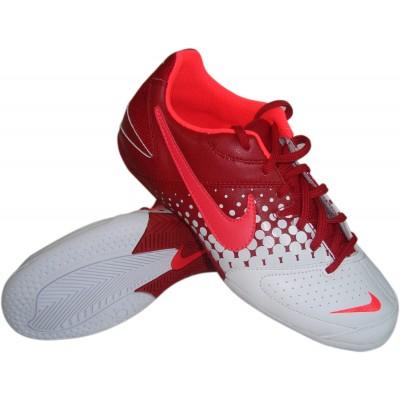 brand new 37b33 e8461 Zapatillas de Futbol Sala Nike Elastico Rojo-Blanco.