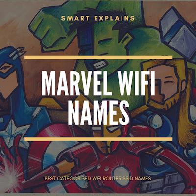 marvel wifi names 2018