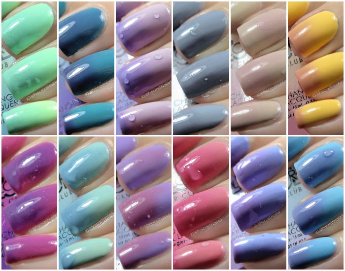 Color Club Mood Nail Polish Reviews