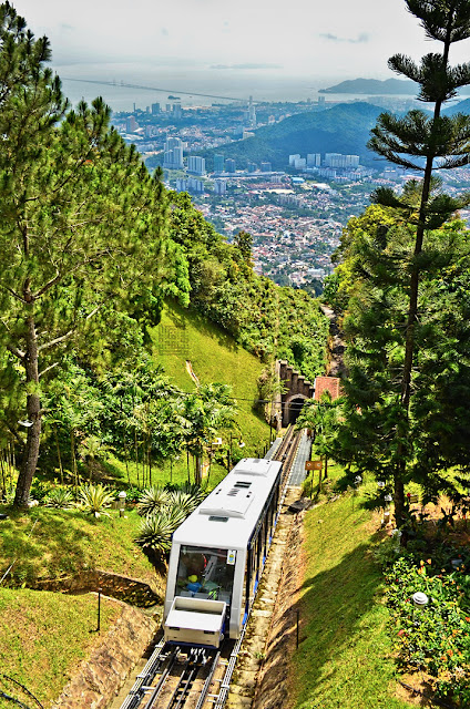 Penang Hill: Plain View From Top