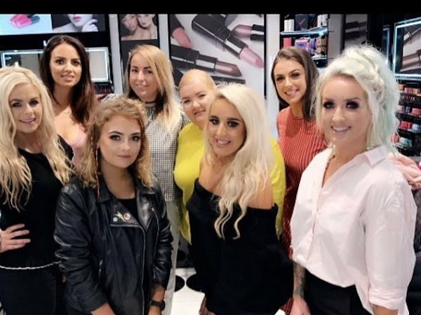 Inglot Waterford Influencer Event