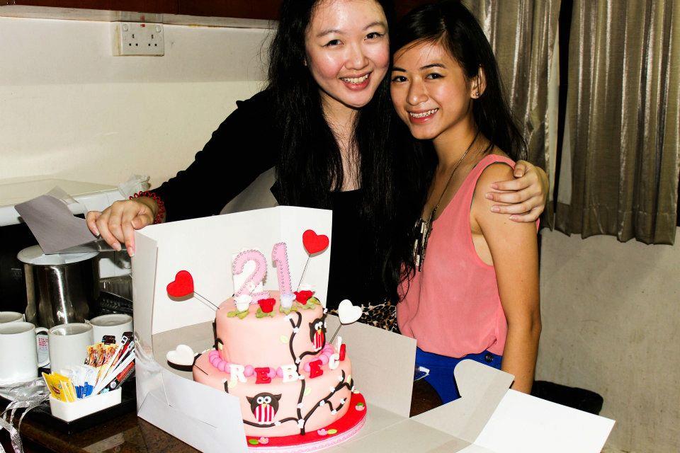 Cakes2share Singapore 21st Birthday Cake Singapore Owl
