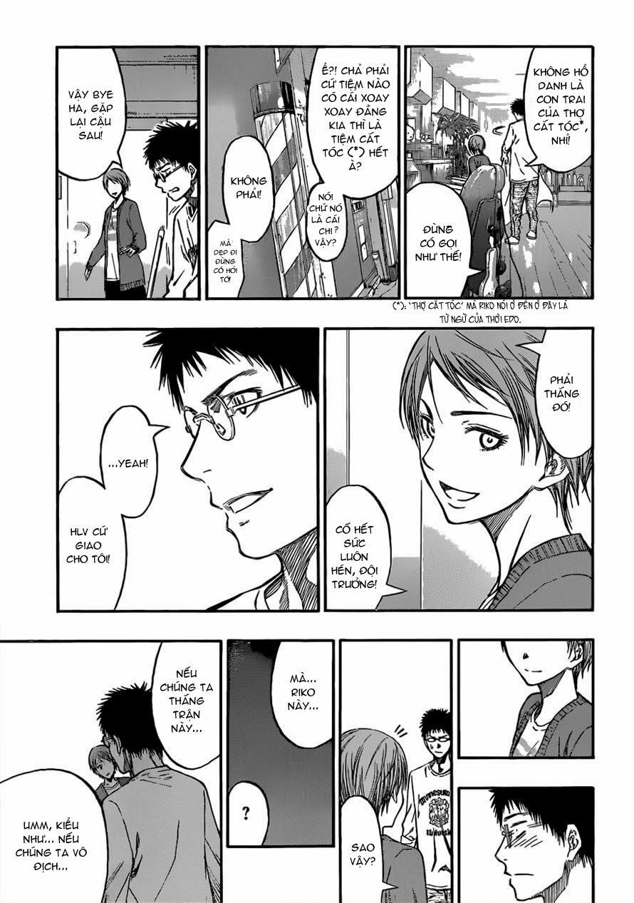 Kuroko No Basket chap 229 trang 5