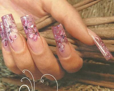 Como decorar las uñas acrílicas