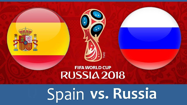 Spain vs Russia Full Match Replay 01 July 2018