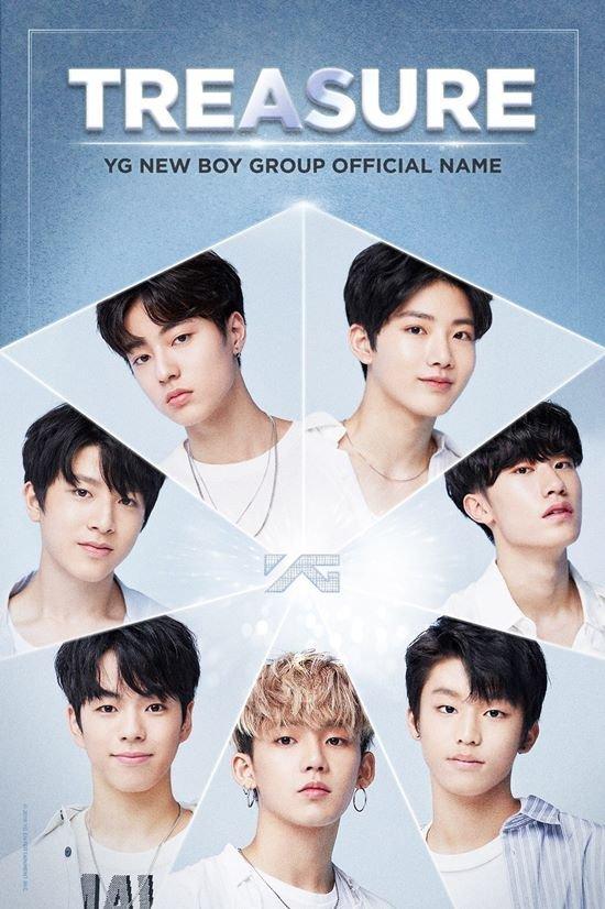 YG'nin yeni erkek grubunun ismi 'Treasure' olacak