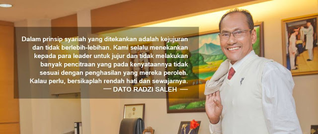 dato radzi saleh quotes