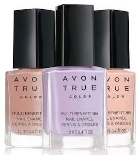 Avon True Color Multi-Benefit BB Nail Enamel - with swatches!