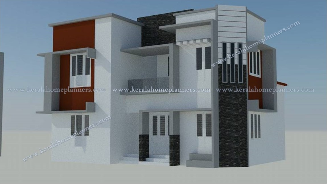 4 bedroom duplex house plan for multi family with split for Residential lease for apartment or unit in multi family