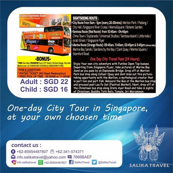FunVee Open Top Bus - Salika Travel
