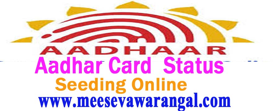 Check Aadhaar Card Status By Name / Date of Birth and Download online