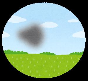 緑内障の視界のイラスト2