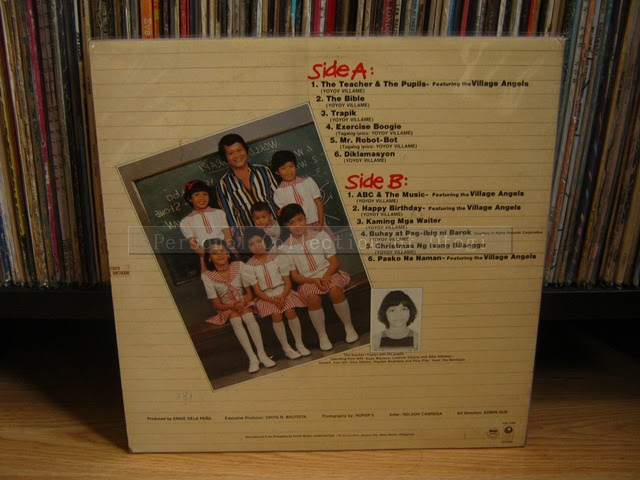 My OPM LP Collection: Yoyoy Villame