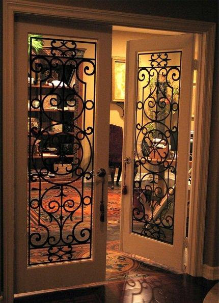 cửa sắt 2 cánh đẹp nhất