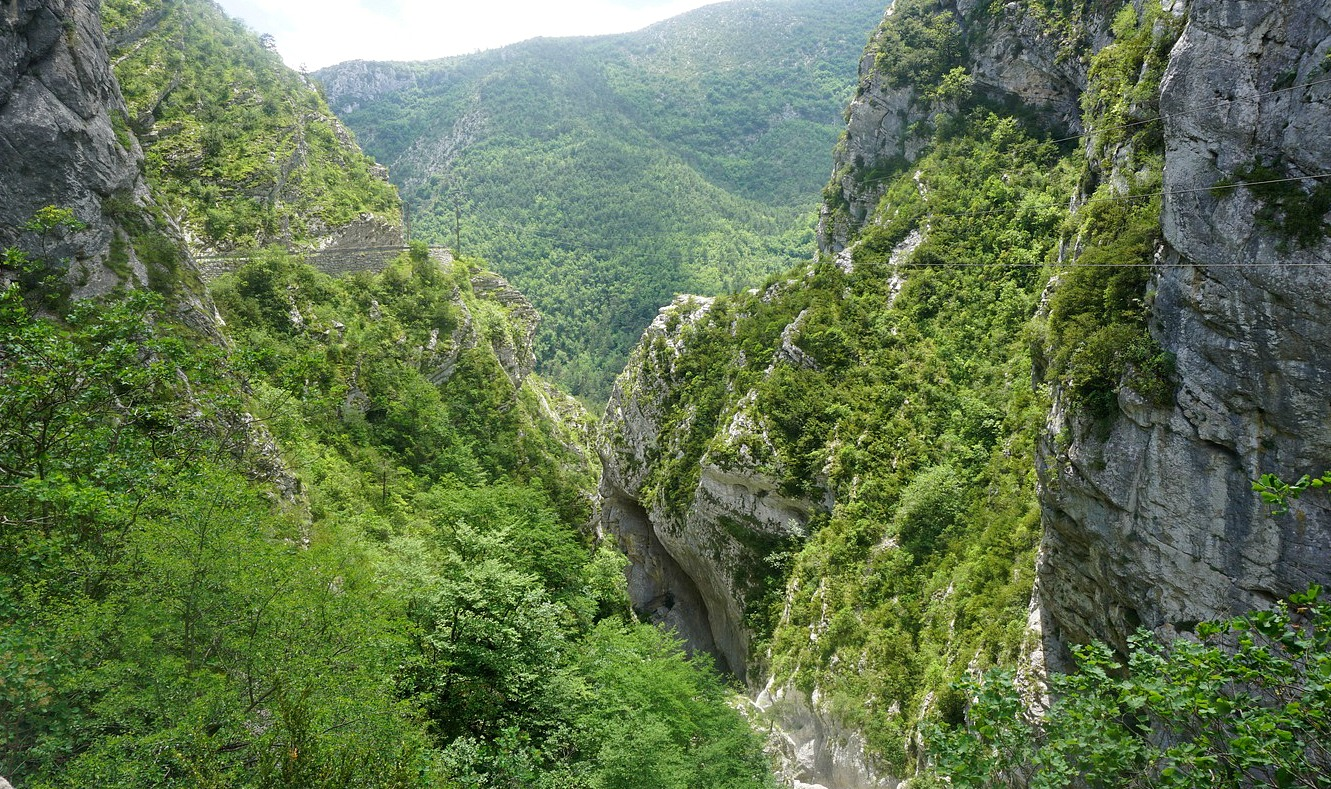 Gorge of the Riolan River