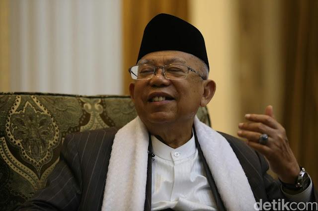Ma'ruf Amin Tak Keberatan Abu Bakar Baasyir Batal Bebas