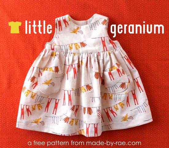My 8 Favorite FREE Baby Sewing Patterns: 2016