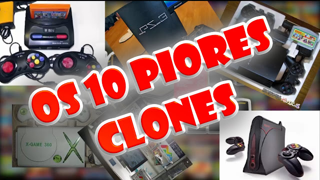 Os 10 piores clones de video games de todos os tempos