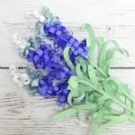 how to make Paper Blue Bonnets