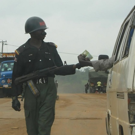 Police in Cross Rivers Detain Two Men for Recording Them While They Extorted Money From People