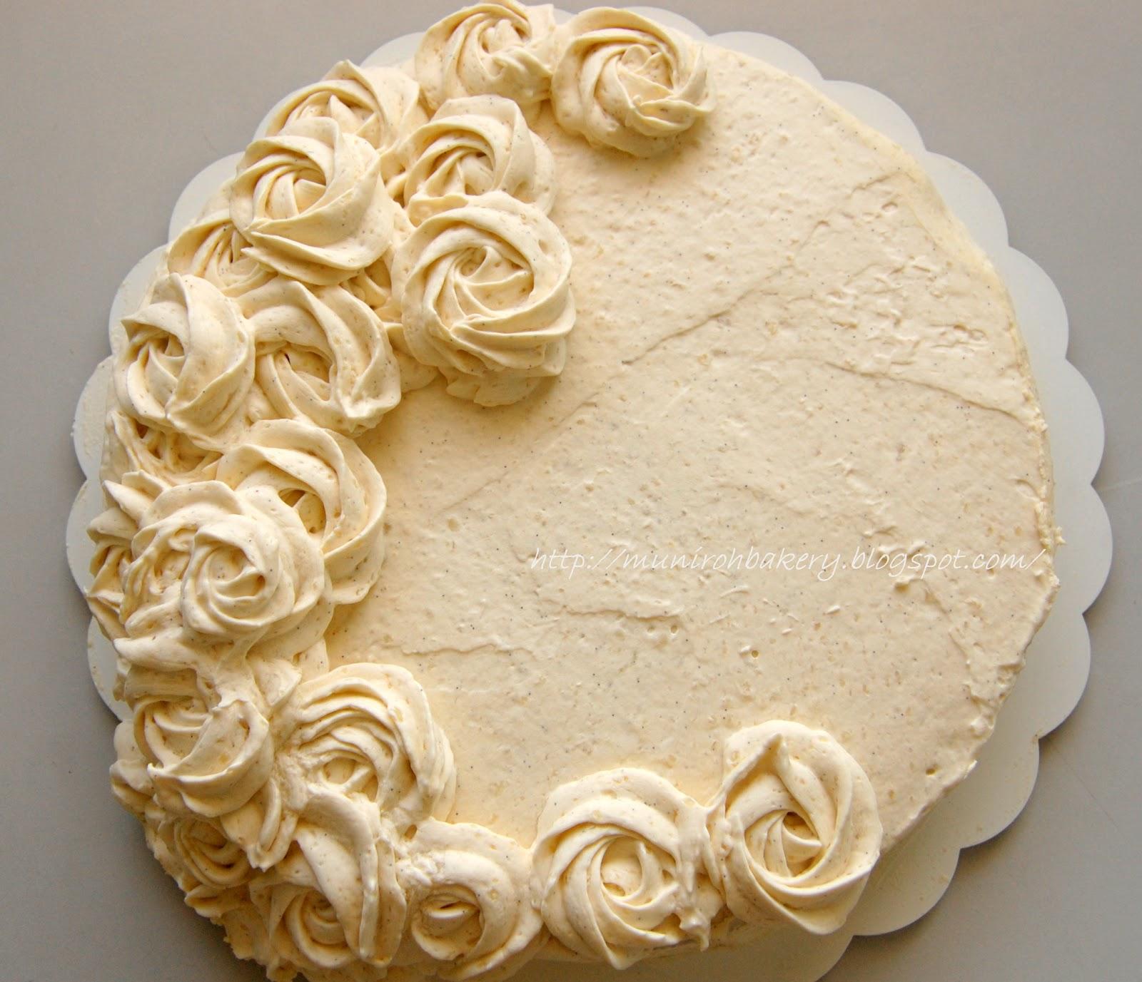 Dense Vanilla Cake With Vanilla Bean
