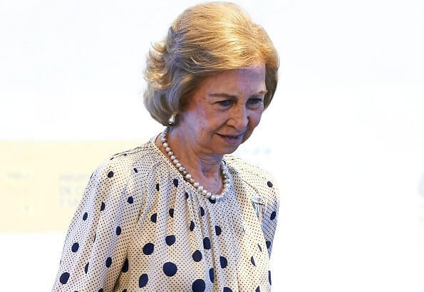 Queen Sofia attended a symposium on Research and Innovation in Neurodegenerative Diseases