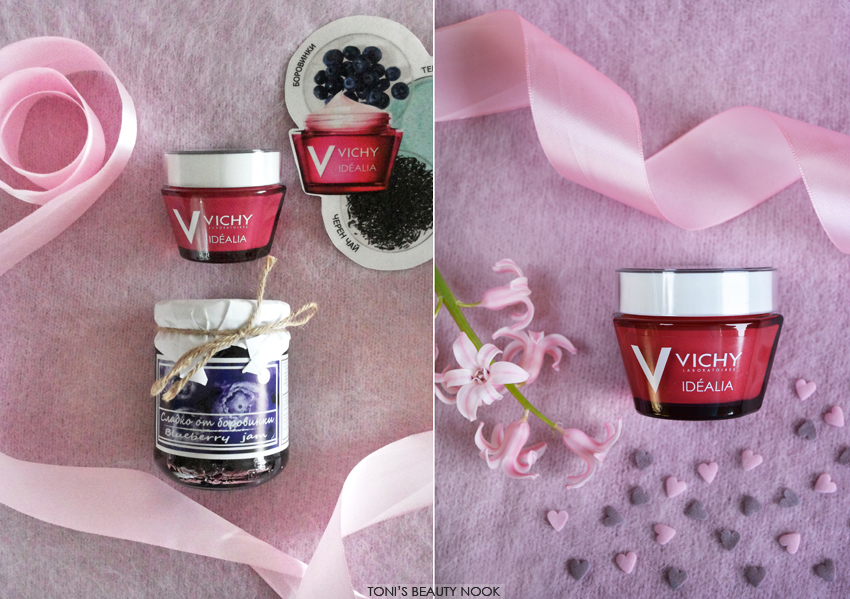 vichy Idealia new formula normal combination skin
