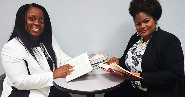 Qiana Cannon and Ashley Marie Knight, founders of Word Unite Bookstore