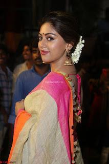 Anu Emmanuel sizzles in khaki saree at Zee Telugu Apsara Awards 2017 03.JPG