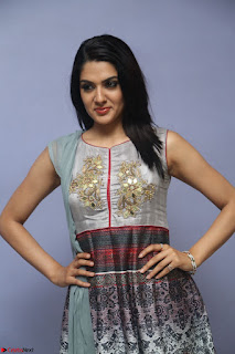 Sakshi Chaudhary Beautiful Emroidery Work Sleeveless Anarkali Dress 045.JPG