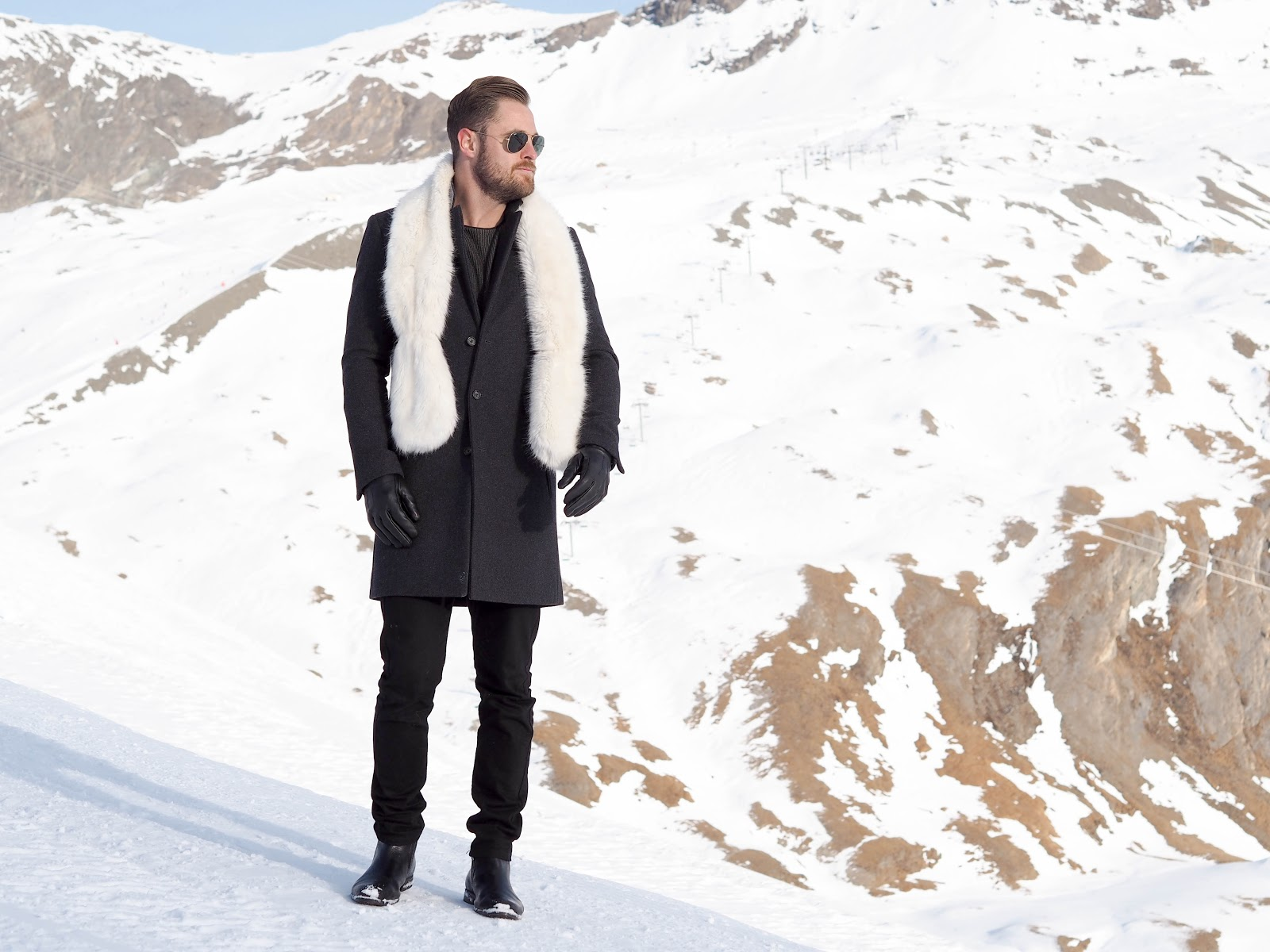 An Oufit for the Gentleman: Snow Edition