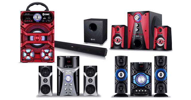 Speaker Aktif GMC Bluetooth