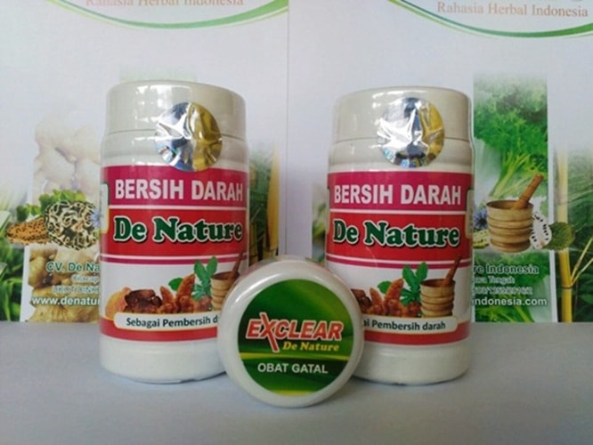 Obat Alergi Gatal Herbal de Nature