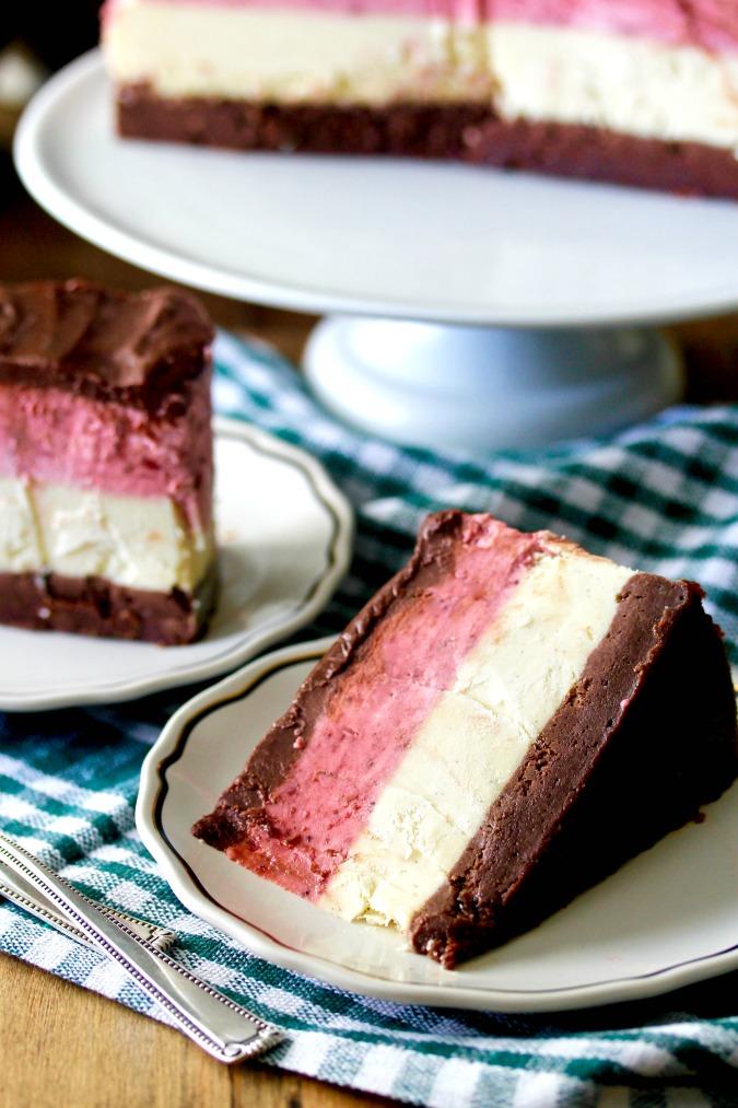Neapolitan Cheesecake #cheesecake #neapolitan