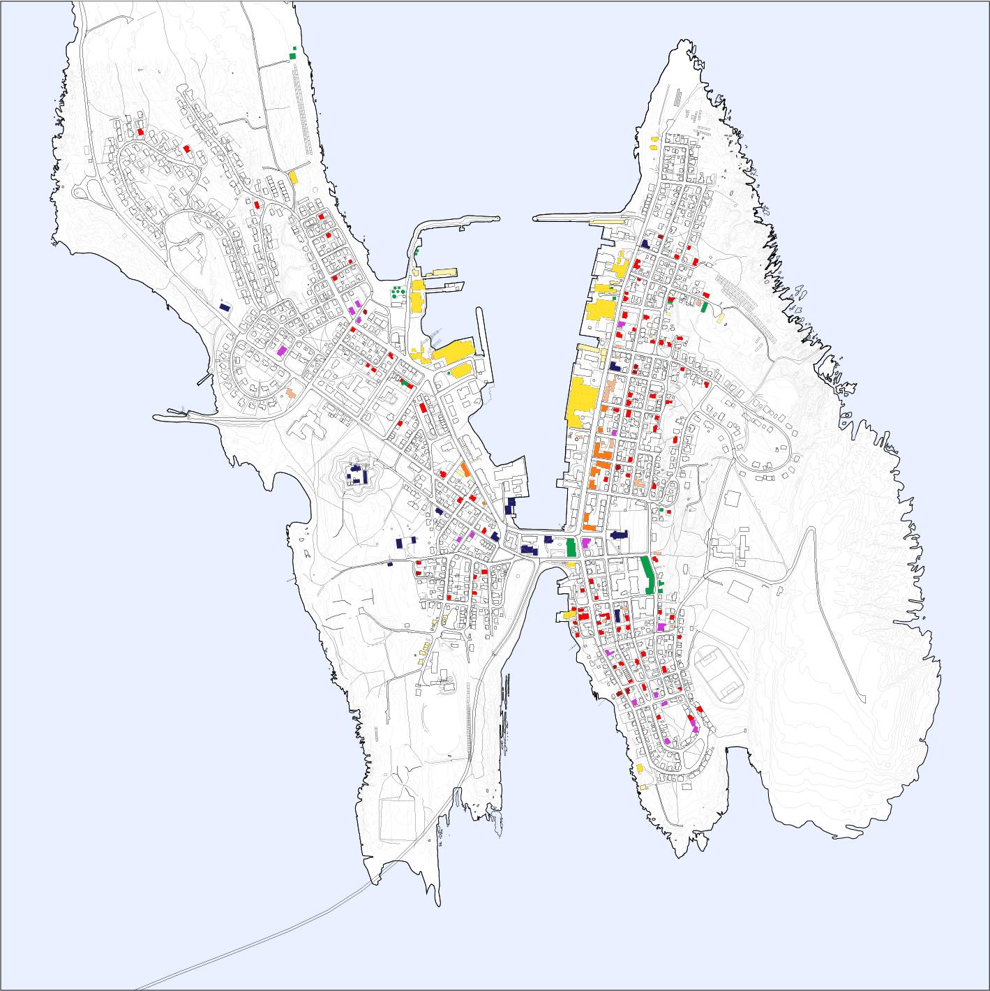 kart over vardø Vardo map kart over vardø