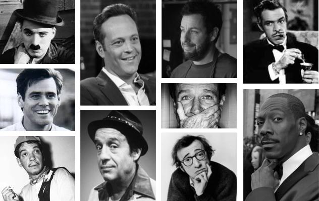 Los mejores actores de comedia