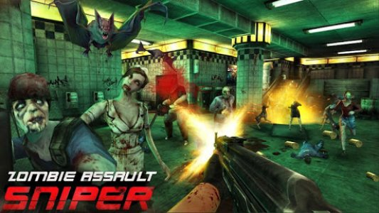 Tampilan Game Zombie Assault Sniper