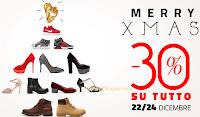 Logo Merry X Mas : scarica il buono sconto del -30% su un prodotto a tua scelta