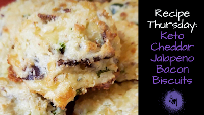 keto, keto cheddar jalapeno bacon biscuits, low carb, thanksgiving sides, ketogenic, low carb biscuits, recipe, keto biscuits