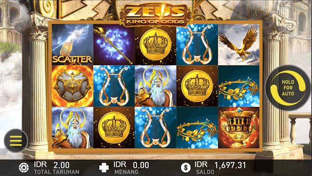 SITUS AGEN SLOT ZEUS GAMES W88