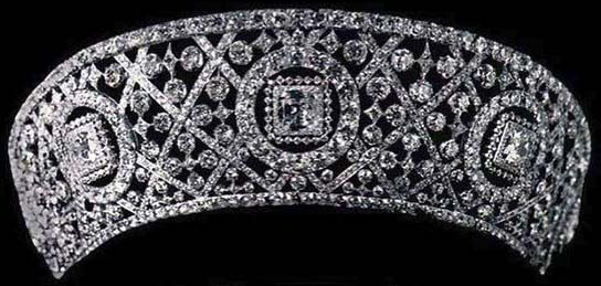 Grace Wilson Vanderbilt Cartier Diamond Kokoshnik tiara