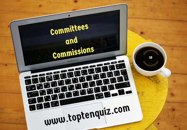 MCQ on Committees and Commissions