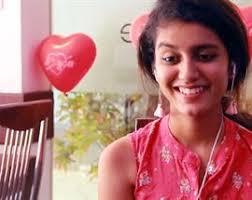 The world is still crushing over Priya Prakash Varrier