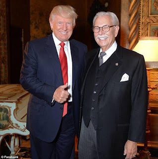 Picture of Trump and Anthony Senecal, Donald J Trump's 30 year butler